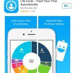 自分のライフログが記録される Life Cycle という iPhone アプリが面白そう!