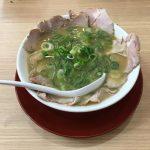 しょうゆとんこつ味の「横綱ラーメン」 岐阜店(国道21号沿い)