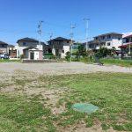 三島市近隣の公園レポート、グランドがけっこう広い駿東郡長泉町桜堤の「桜堤公園」
