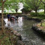 三島市近隣の公園レポート、自然が多い、遊具あり、水遊びそして BBQ もできる上岩崎公園