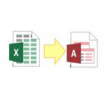 Access のテーブルに Excel シートをインポートする方法