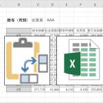 Excel(エクセル)で作った表を加工するために、コピー後「行と列を入れ替えて貼り付ける」