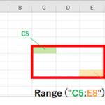 【初心者向け】Excel VBA(マクロ)におけるセルの指定の仕方を解説、Cells、Range を使う方法