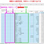 Excel VBA(マクロ) LIKE によるあいまい検索で現金出納帳の摘要から科目を割り当てる