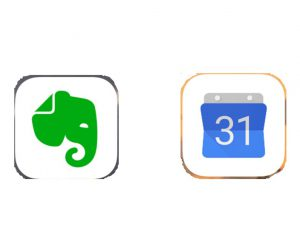 Evernote Googleカレンダー