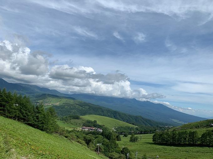車山高原リフトからの眺め