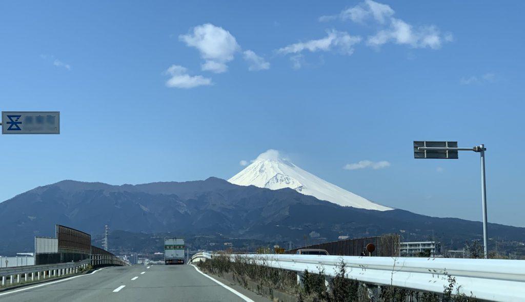 三島市の富士山